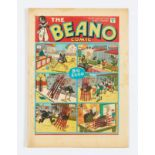 Beano No 27 (1939). Bright covers, cream pages with light foxing blemishes to some page margins. 2