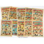 Beano (1945) 249-274. Complete year of propaganda war isues. All copies retrieved from bound