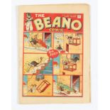 Beano No 11 (1938). Only a few copies known to exist. Bright cover, cream/light tan pages, page