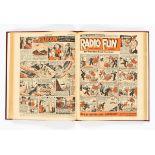 Radio Fun (Jan-Jun 1948) 482-507. Publisher's file copies in half-year bound volume. Starring