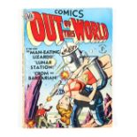 Out of this World (Thorpe & Porter UK One-Shot 1951). Lunar Station and Man-Eating Lizards stories