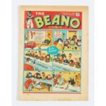 Beano No 26 (1939). Bright covers, cream pages with light foxing blemishes to some page margins [