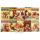 Phantom Ranger (1955-56 WDL) 1-18. Walt Howarth painted covers. Rare in this complete run [vg/