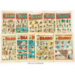Beano (1950) 391-441. Near complete year missing issue 390. Starring Jimmy and his Magic Patch, Jack