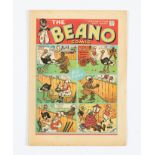Beano No 29 (1939). Bright covers, cream/light tan pages [fn-]
