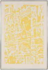 """Lot 1 - Roy Lichtenstein (American, 1923-1997) """"Cathedral #1"""". Lithograph. 22/75. Pencil signed 'Roy"""