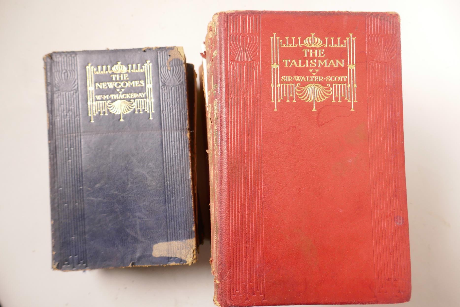 Lot 59 - Sir Walter Scott, 'The Talisman', Macmilan's illustrated pocket Scott on India paper, published by