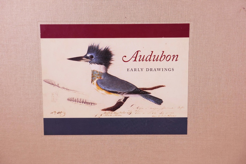 Lot 28 - John James Audobon (1785-1851), 'Audobon: Early Drawings', introduction by Richard Rhodes, notes