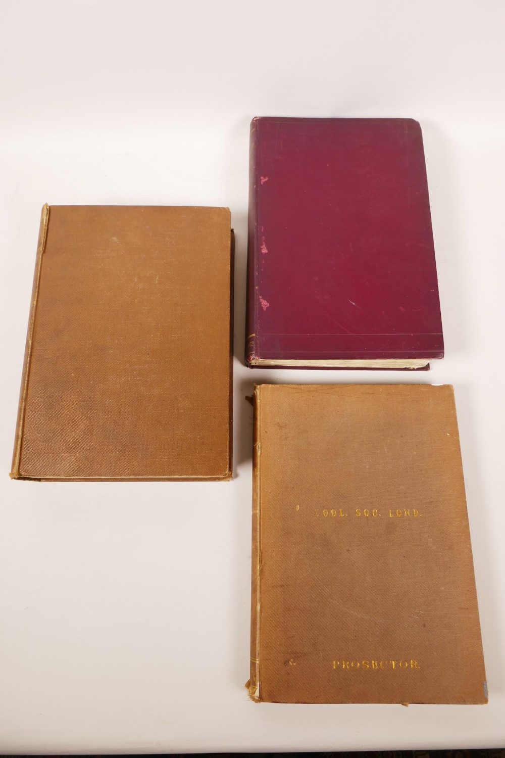 Lot 27 - Sir Joseph Prestwich (1812-1896), Collected Papers on some Controversial Questions of Geology',