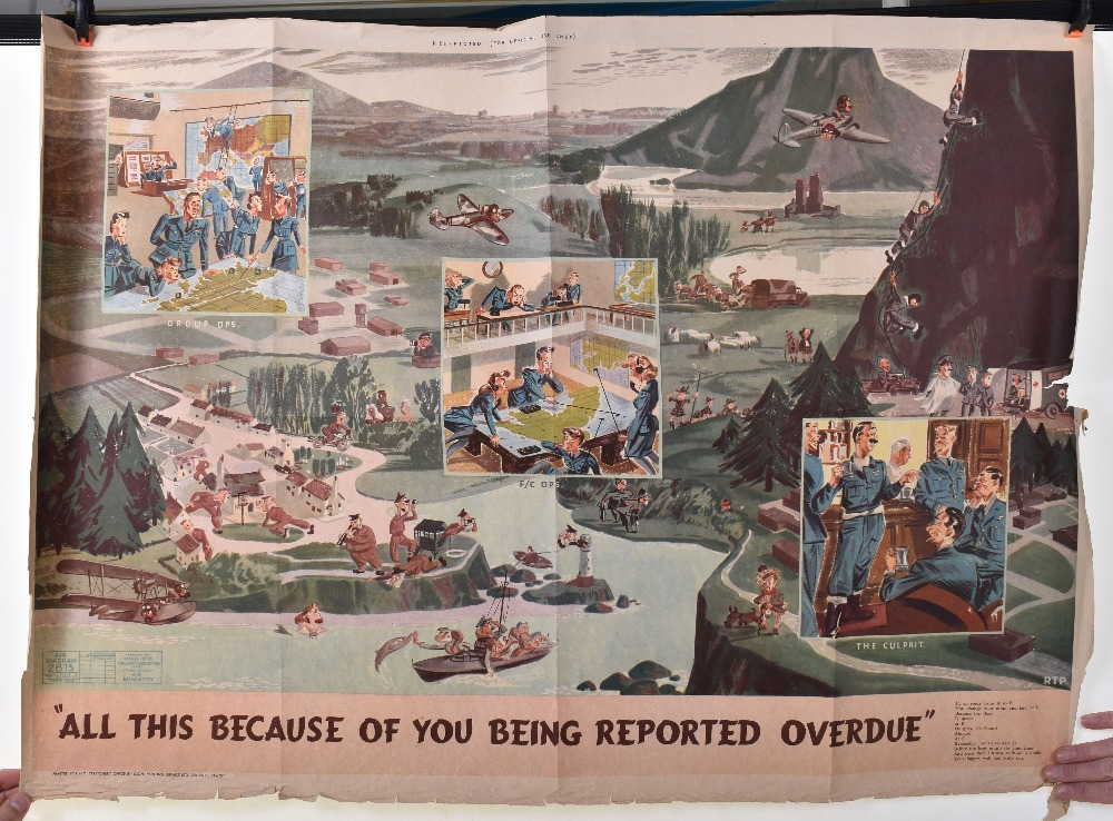 Lot 19 - Wartime Air Ministry Posters