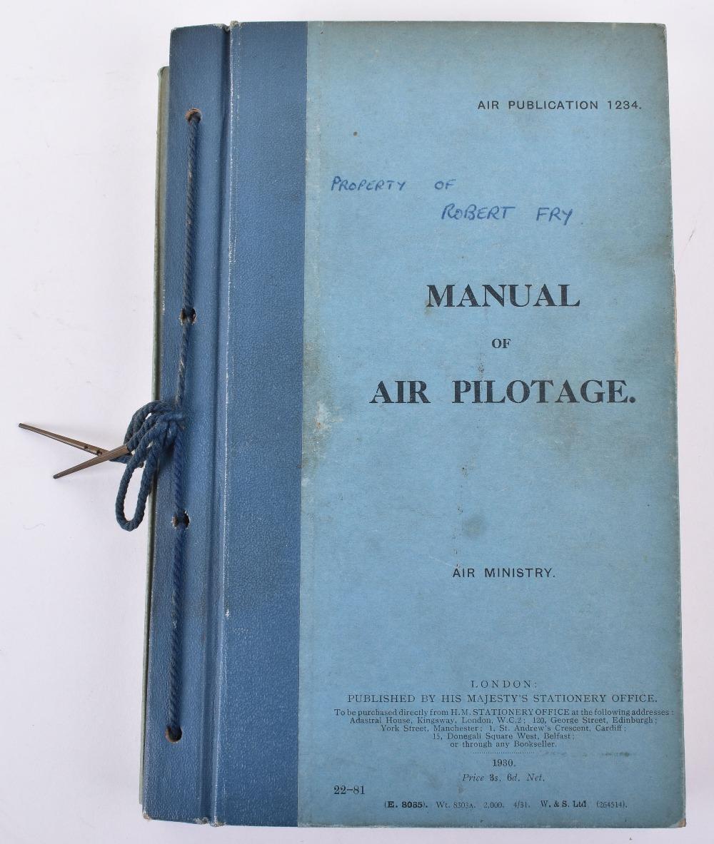 Lot 9 - Aviation – Manual of Air Pilotage 1930