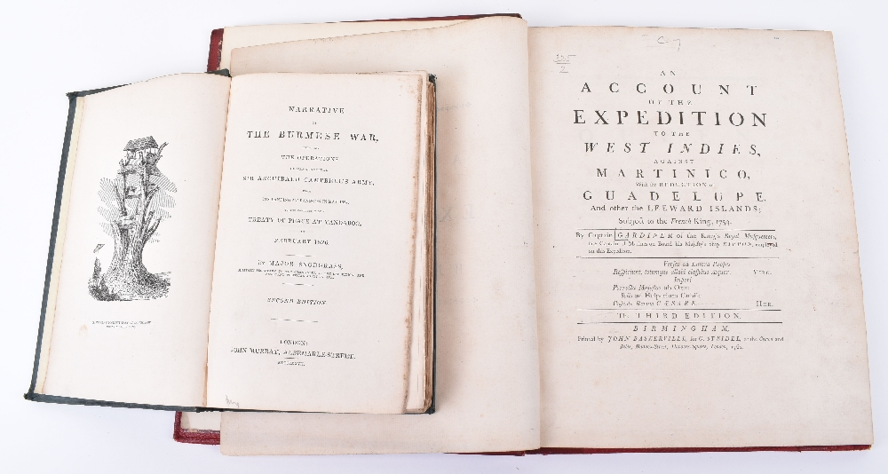 Lot 31 - An Account of the Expedition to the West Indies against Martinico with the Reduction of Guadeloupe a