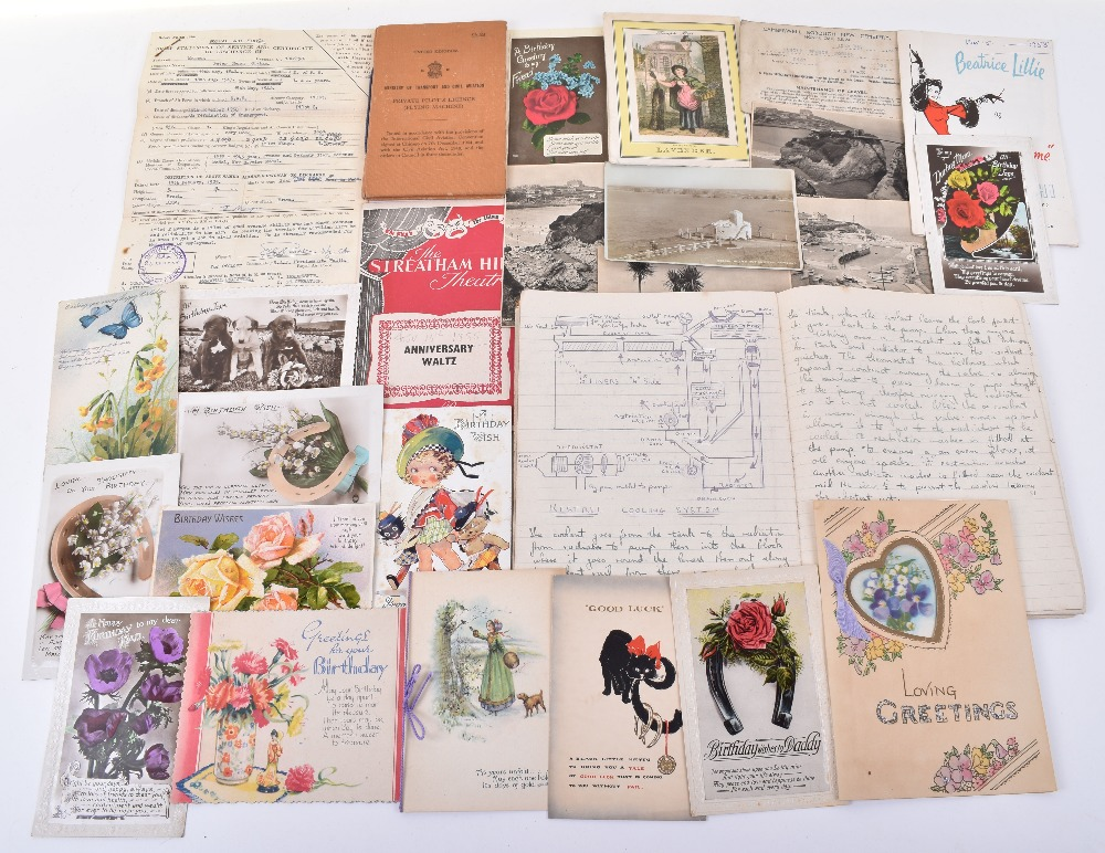 Lot 11 - Interesting and Extensive Collection to an RAF Pilot, Peter Henry Graham Morgan and his Wife Nina a