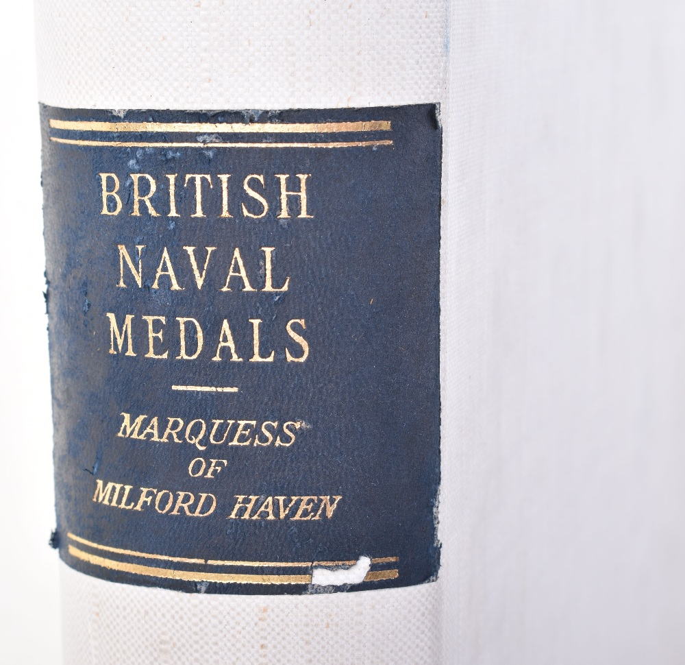 Lot 39 - Marquess of Milford Haven (Prince Louis of Battenberg) British Naval Medals