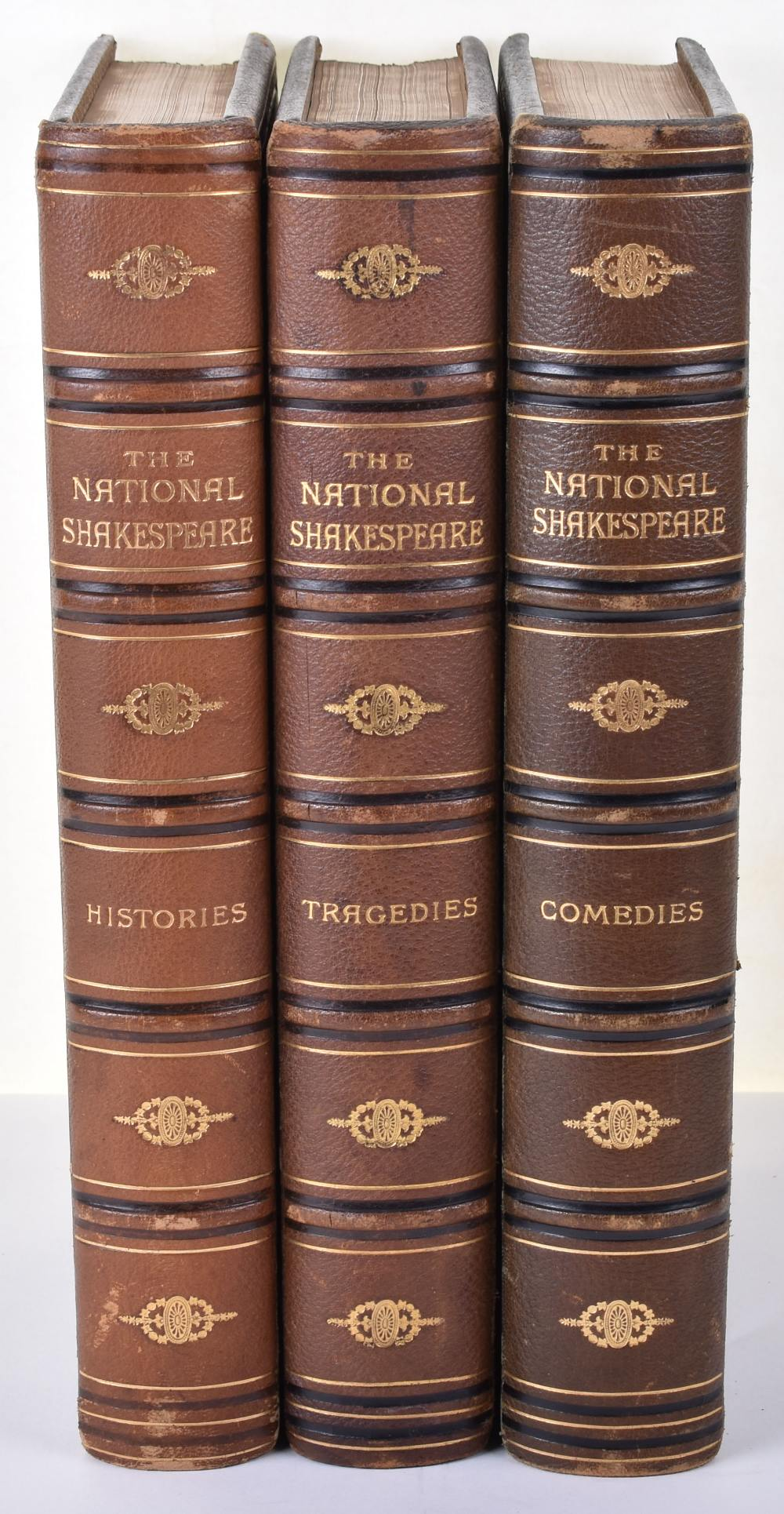 Lot 23 - Shakespeare. The National Shakespeare, Illustrated by Sir J. Noel Paton RSA, 3 Volumes
