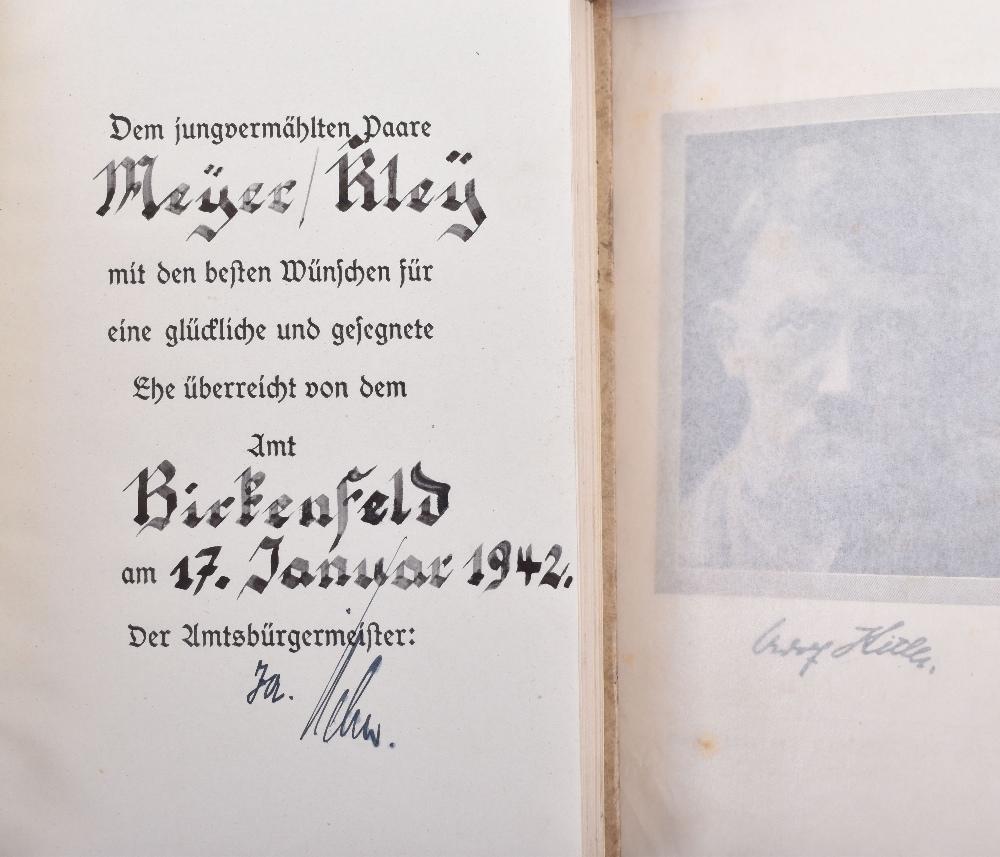 Lot 47 - Adolf Hitler's Mein Kampf's
