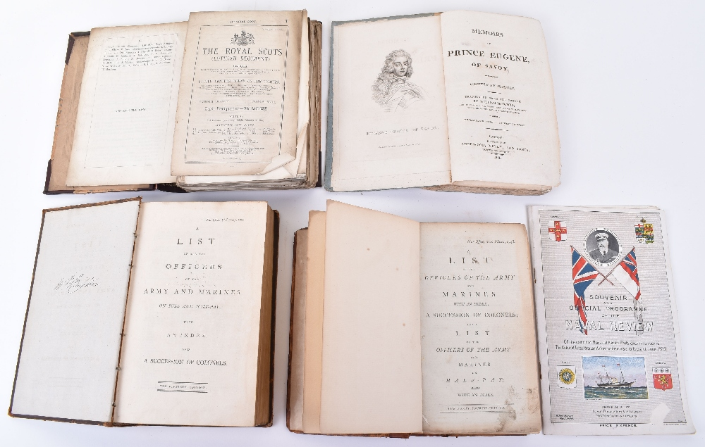 Lot 33 - A List of the Officers of the Army.1796