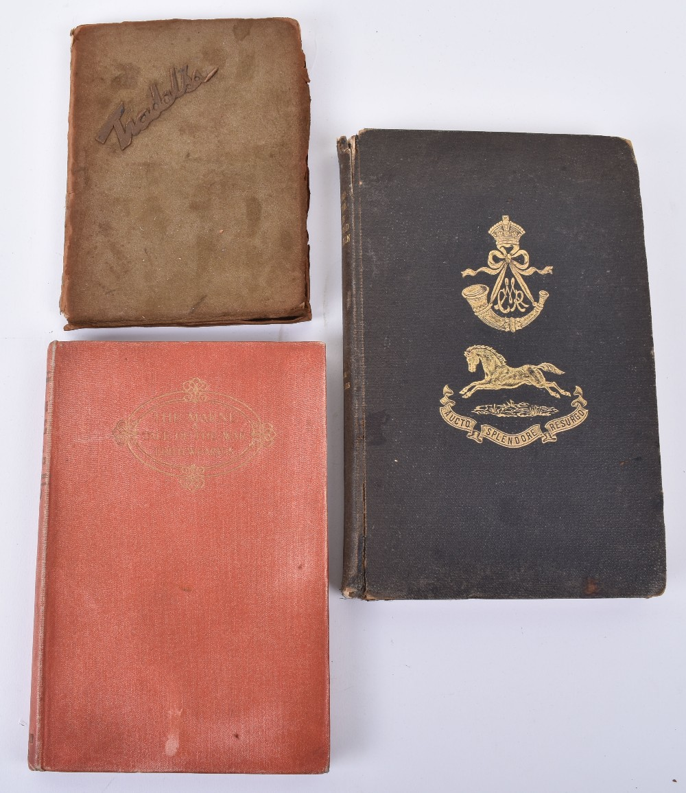 "Lot 38 - Book ""Record of the Cape Mounted Rifleman"" by Williams 1909"