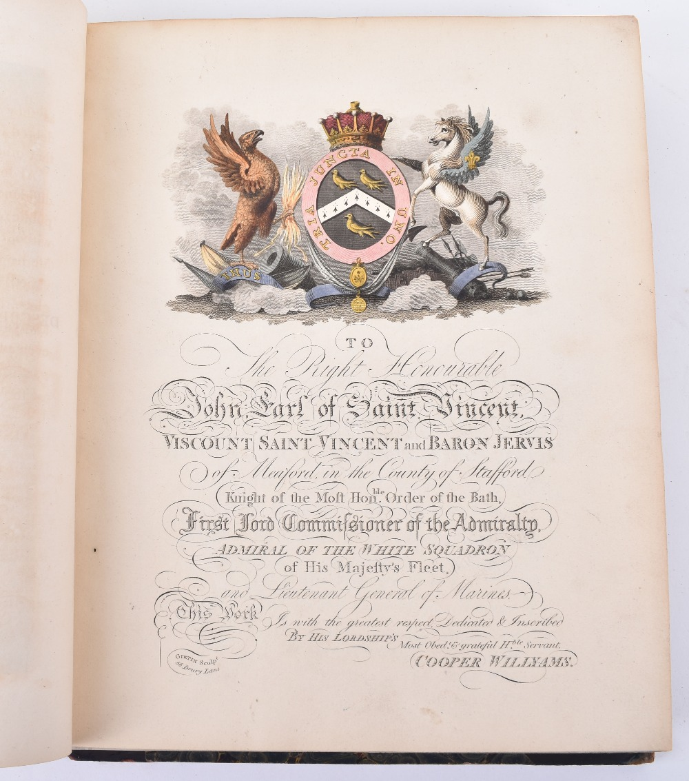 Lot 26 - A Voyage up the Mediterranean in his Majesty's Ship the Swifture one of the Squadron under the Comma