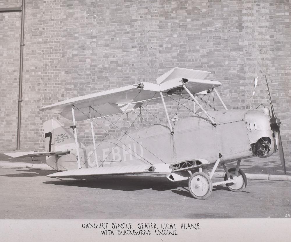"Lot 8 - Important Company Photograph Album "" The Gloucestershire Aircraft Co. Ltd. Cheltenham"" Produced c.19"