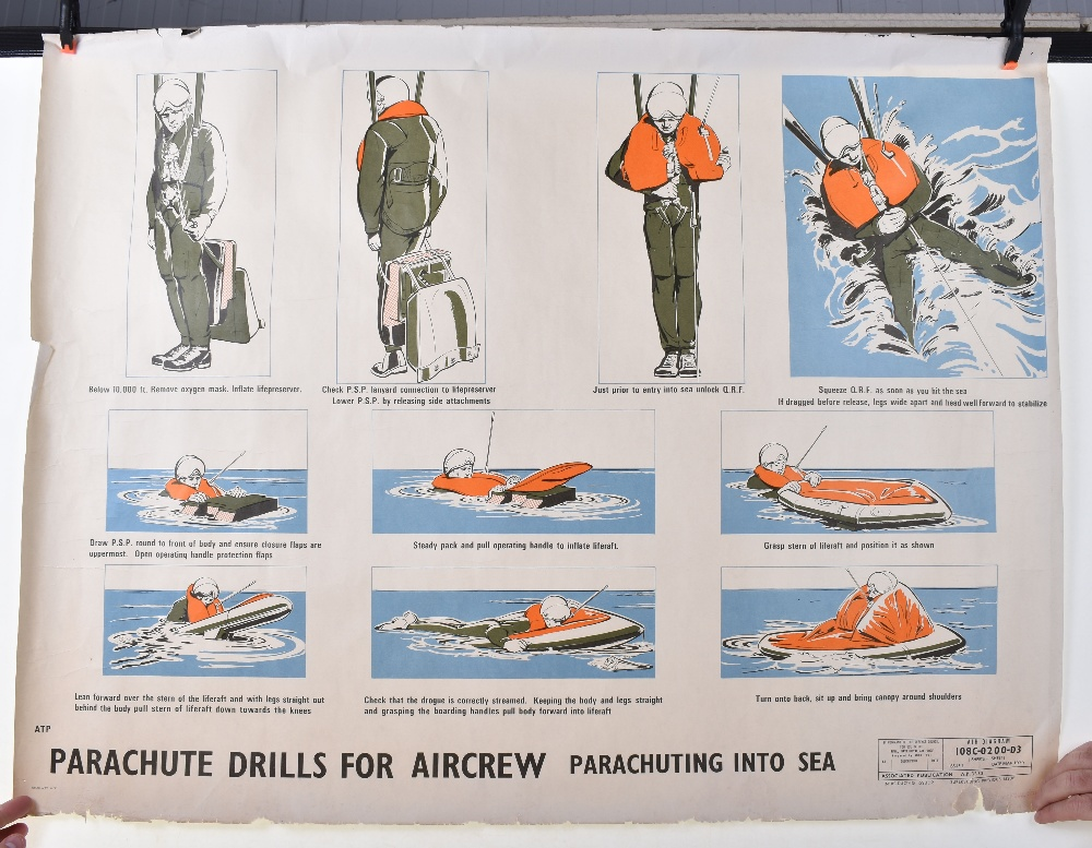 Lot 21 - Wartime Air Ministry Posters