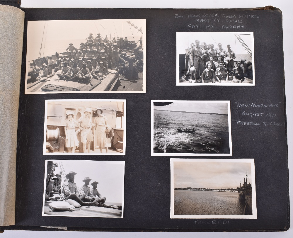 Lot 12 - First WAAF (Women's Auxiliary Air Force) Officers in Egypt, September 1941