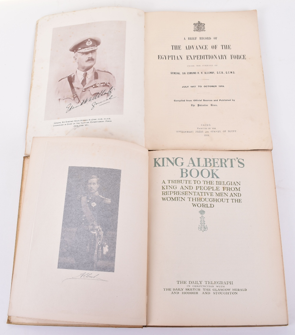 Lot 36 - A Brief Record of the Advance of the Egyptian Expeditionary Force..