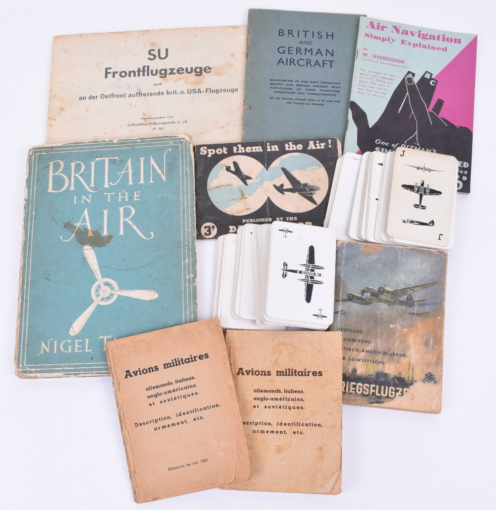Lot 15 - Grouping of Paperwork Relating to Aircraft Recognition
