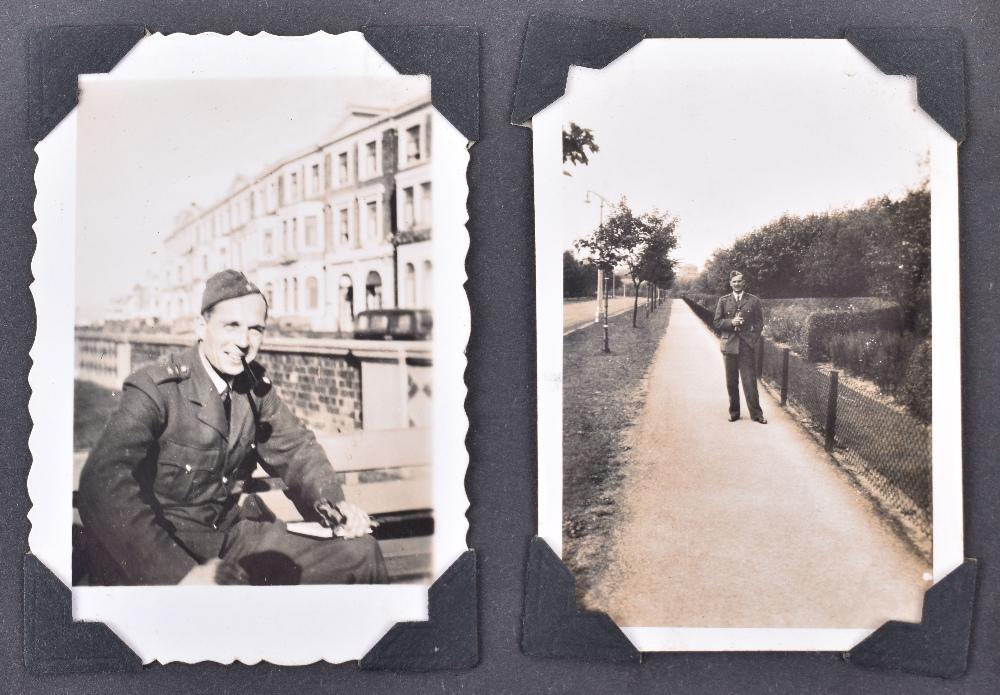 Lot 14 - Outstanding WW2 Polish Fighter Pilots Photograph Album Grouping of Flight Lieutenant Antoni Lipkowsk