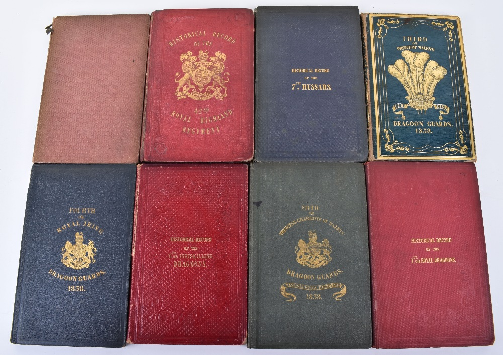 Lot 35 - Nice Collection of Historical Records of various Regiments by Richard Cannon