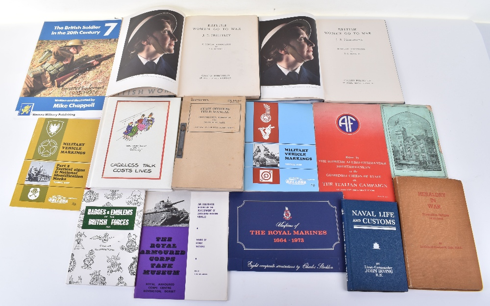 Lot 45 - Collection of Reference Books on the British Army