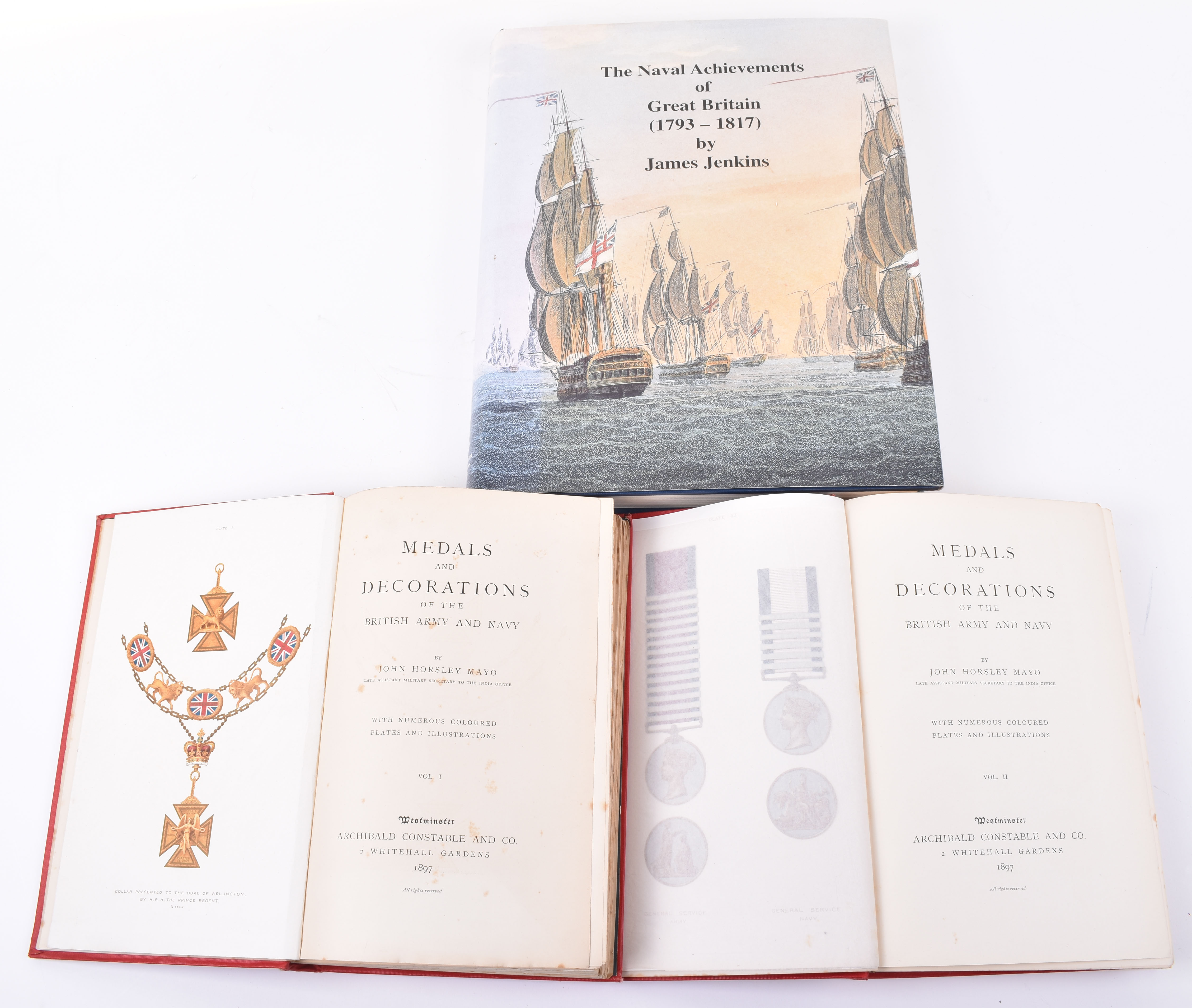 Lot 40 - Mayo, John Horsley. Medals and Decorations of the British Army and Navy Two Volumes 1897