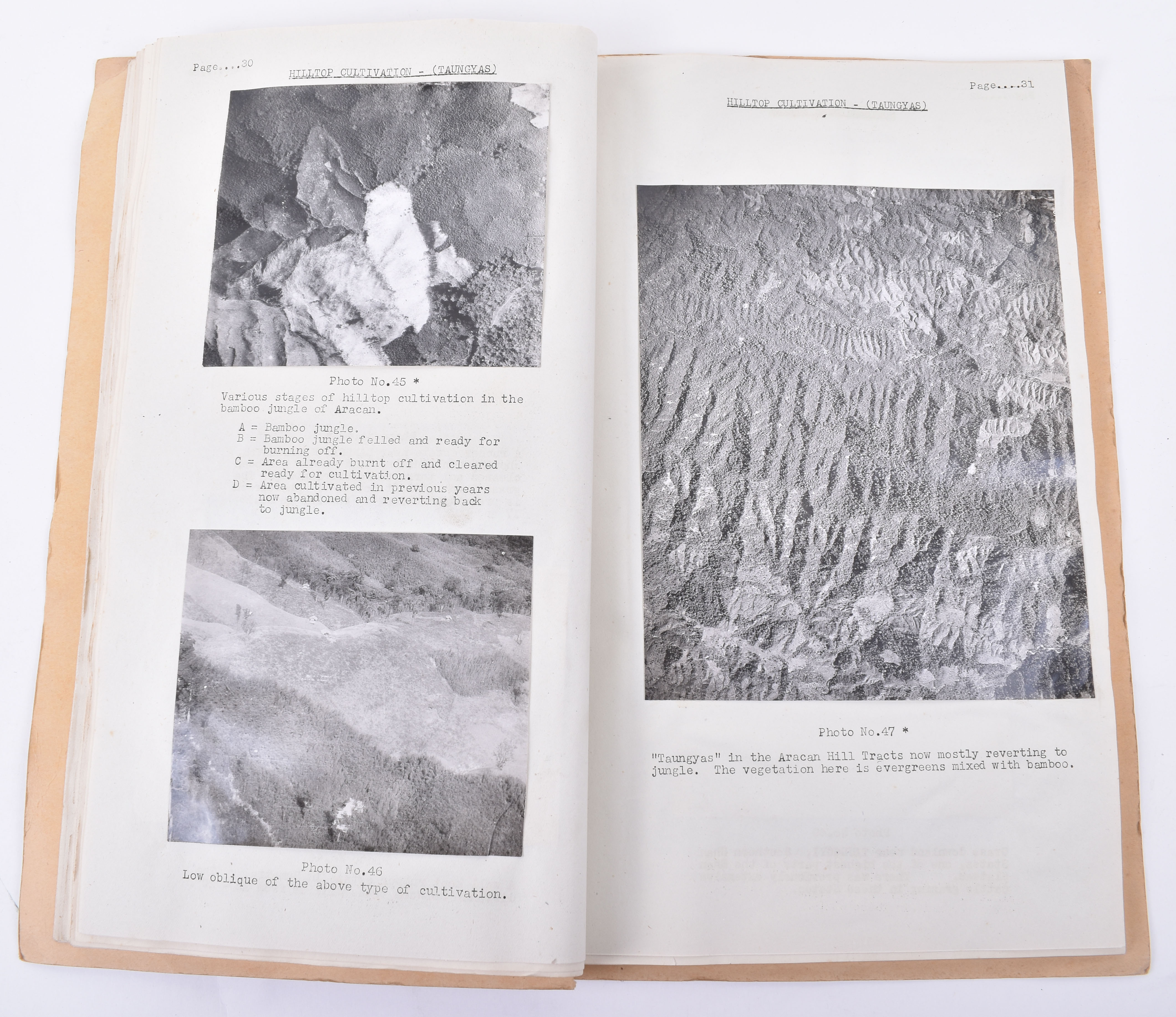 Lot 18 - Clarence Edward Brett Binns, RFC, RAF. Large Collection of his Working Reports and Aerial Photograph