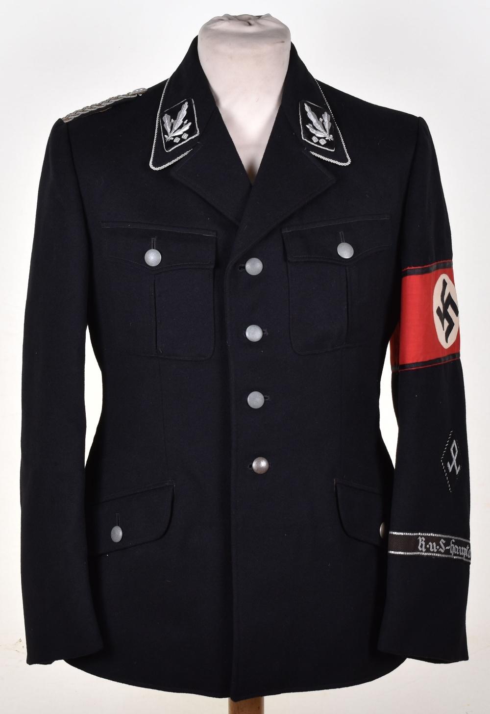 Third Reich Allgemeine-SS Officers Full Uniform ...