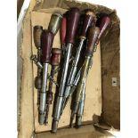 Lot 4 - 16 pump screwdrivers and archimedian drill G
