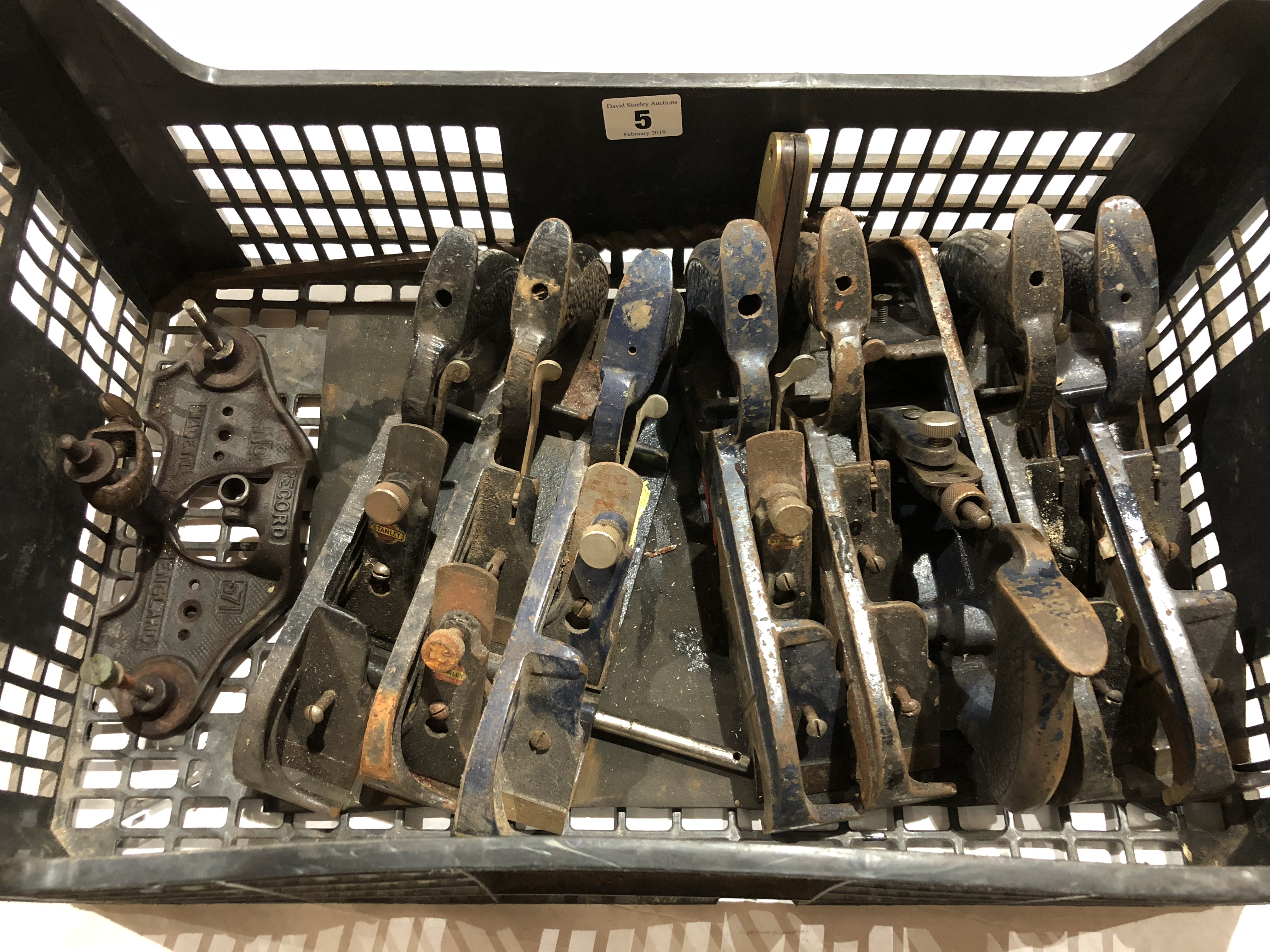 Lot 5 - Eight No 78 rebate planes for spares and repairs G-