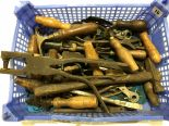 Lot 10 - A quantity of leather workers tools G
