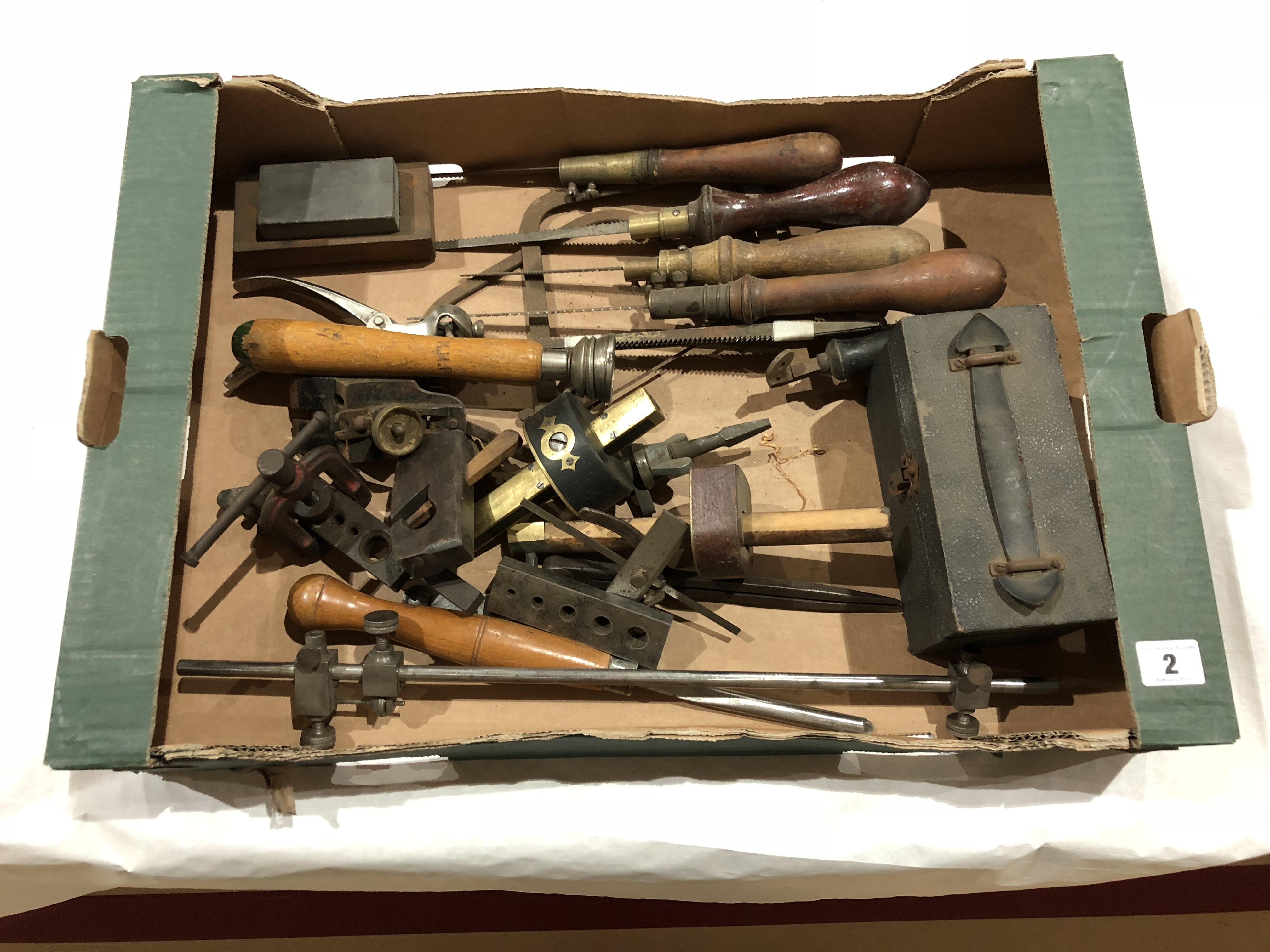 Lot 2 - A box of tools