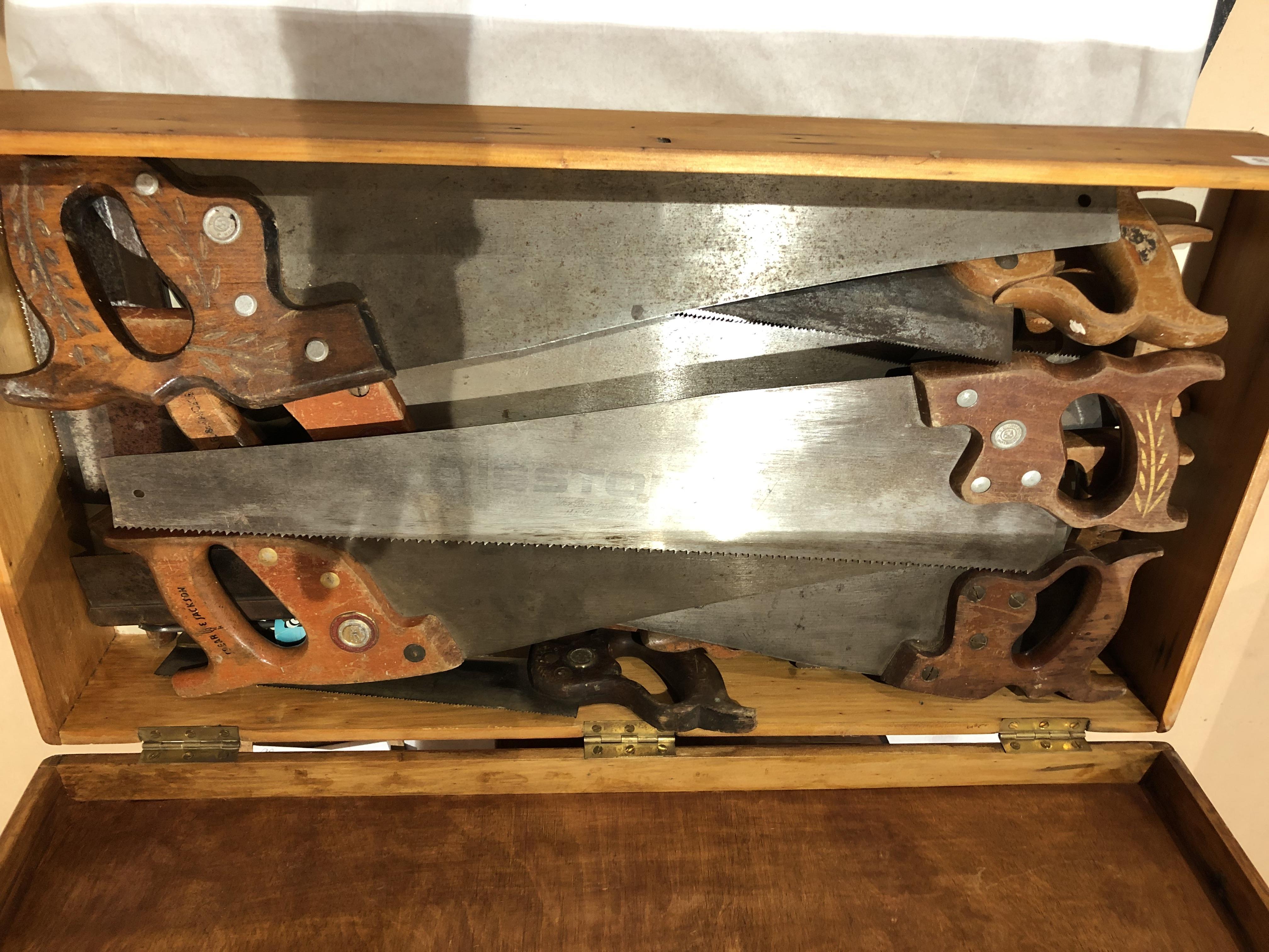Lot 18 - Quantity of saws G