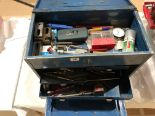 Lot 15 - An engineers tool box with tools G