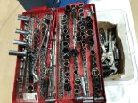 Lot 16 - Quantity of sockets and spanners G