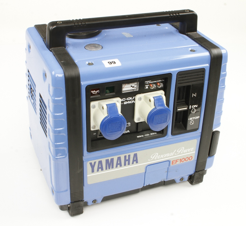 Lot 99 - YAMAHA Personal Power EF 1000 petrol generator probably unused F