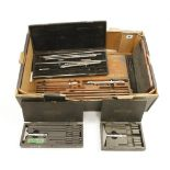 Lot 94 - Three internal micrometers and 2 others