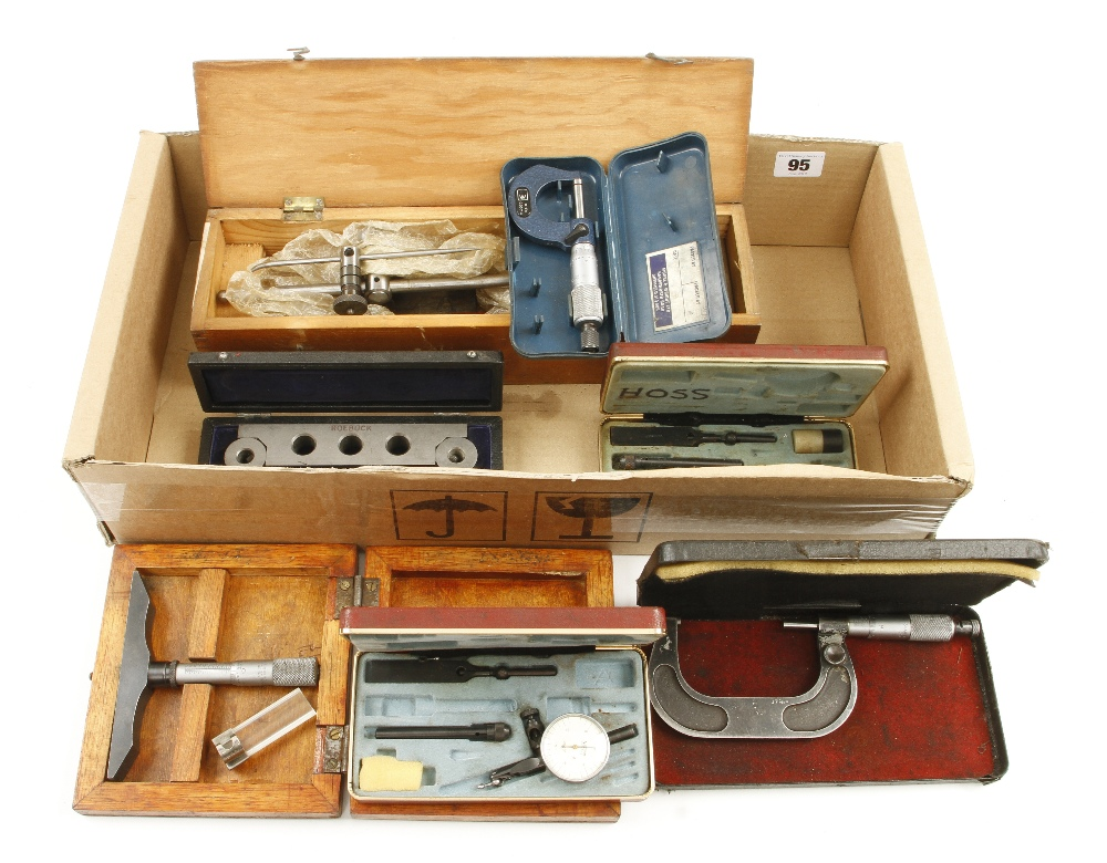 Lot 95 - Two micrometers,
