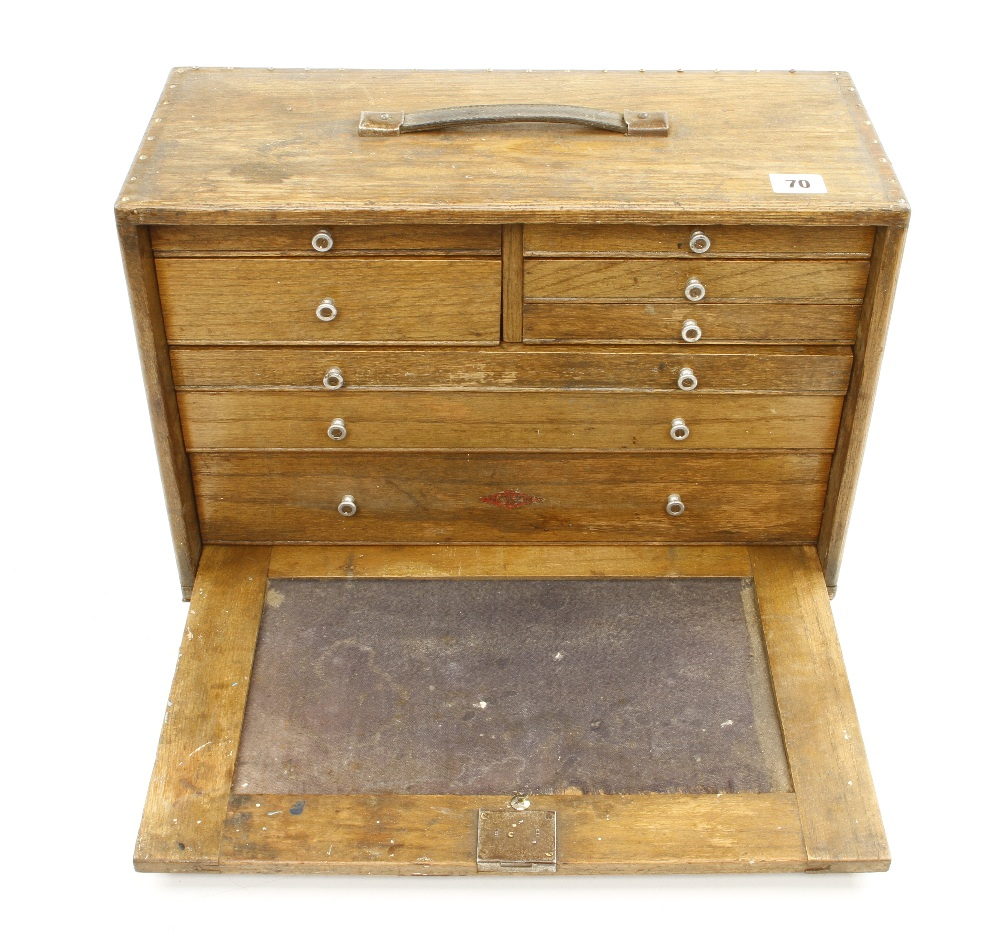 Lot 70 - A NESLEIN 8 drawer engineers tool chest G+