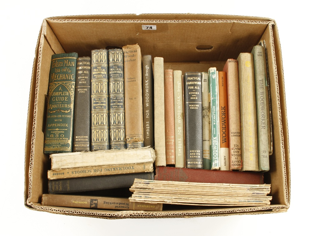 Lot 74 - A quantity of books