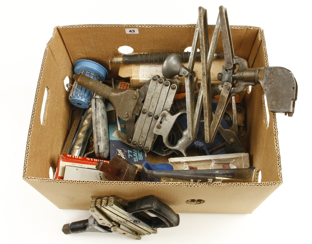 Lot 43 - A box of tools G