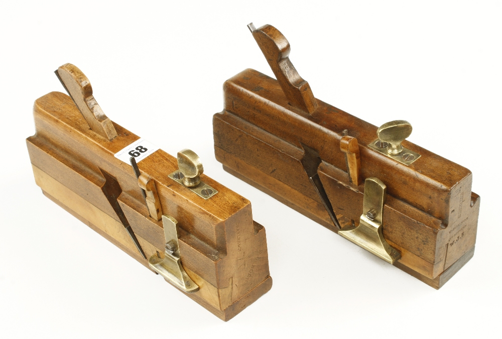 Lot 68 - Two side fillisters by Charles & Co.. & H.