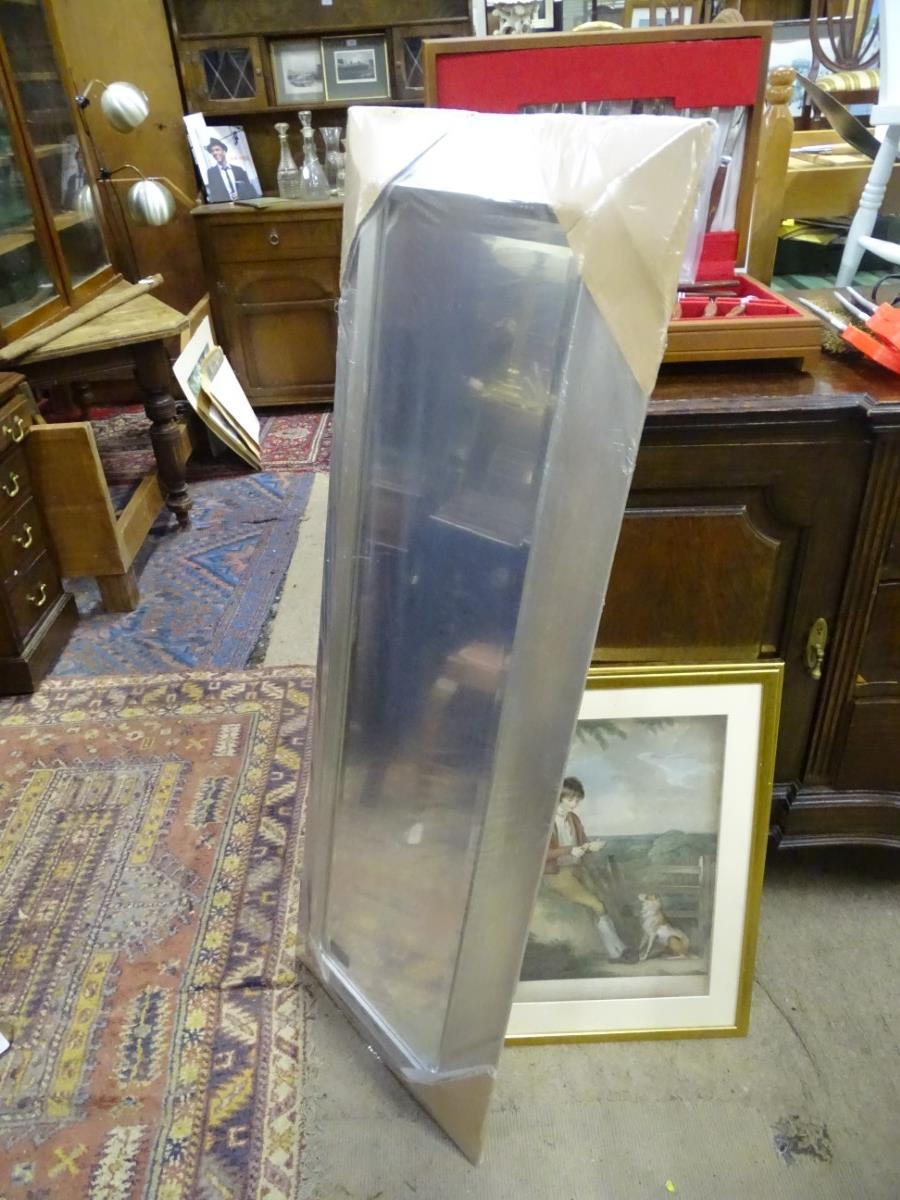 Lot 54 - A rectangular modern mirror CONDITION: Please Note - we do not make reference to