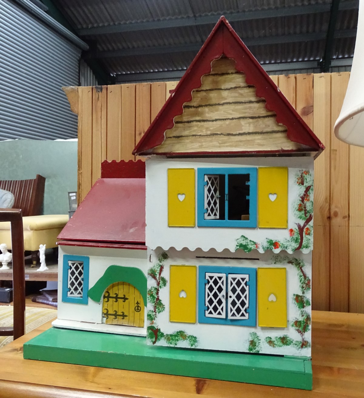Lot 15 - Dolls house and furniture CONDITION: Please Note - we do not make reference to the